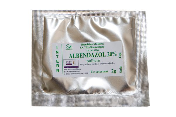 Albendazol 20% pulbere